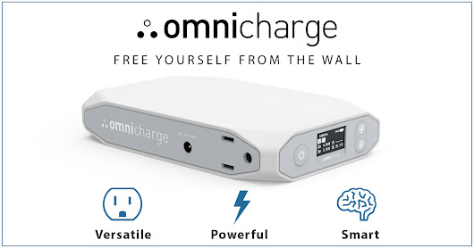 Omnicharge: Smart & Compact Portable Power Bank