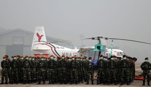 Panglima TNI: Asap di Riau Berulang, SBY Jengkel