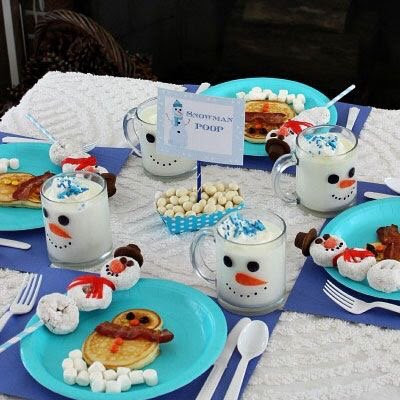 "PenguinBag on Twitter: ""Christmas breakfast ideas. """