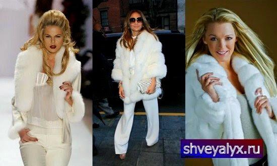 Модные белые шубки сшить шубку за пару часов shveyalux.ru