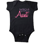 Inktastic Cute Aunt Infant Creeper, Infant Girl's