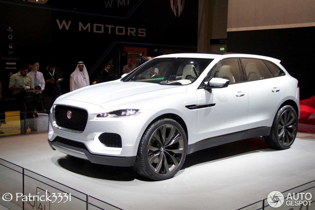 Dubai Motor Show 2013: Jaguars C-X17 & Project 7