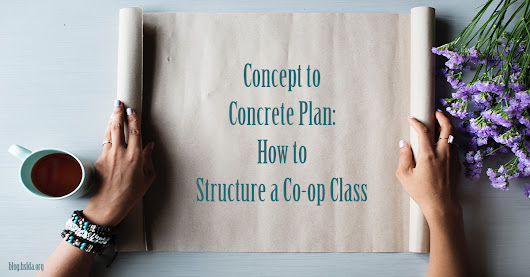 Concept to Concrete Plan: How to Structure a Co-op Class