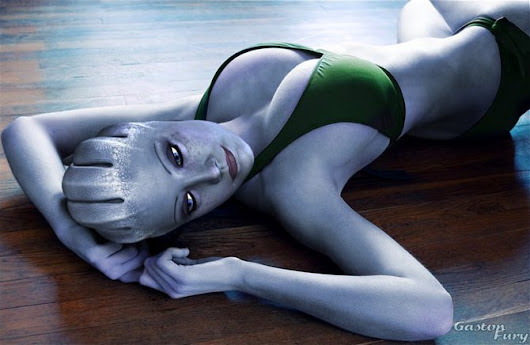 Liara T'Soni in Relax by Gaston Furie