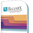 RecentX: Smart Launcher for Windows 10/8/7/XP/Vista - Search File, Folder, Program, Bookmark, Website & Clipboard History