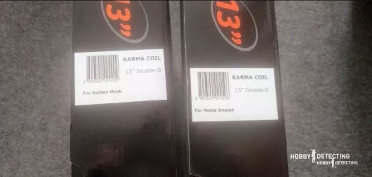 Karma Coils Are Now Available For The Golden Mask And Nokta Impact! (News+)