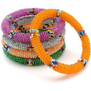 bead bangles