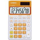 Casio SL300VC Solar Handheld Calculator - 8 Digits - Orange