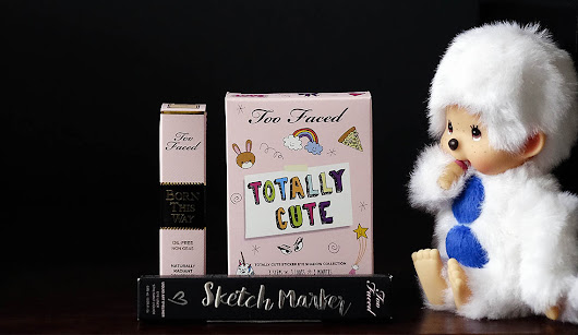 Totally cute eyes avec Too Faced