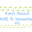 Kara Inc. is fundraising for the Walk to Remember!