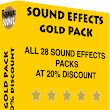 Sound Effects Gold Pack | Rocksure Soundz