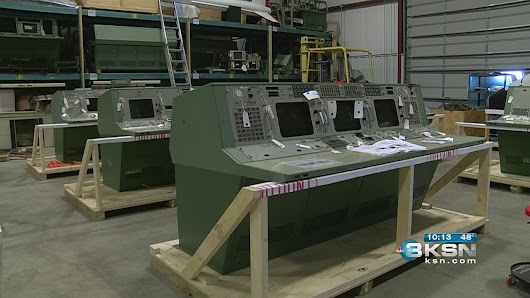 Behind the scenes: Kansas crew begins restoring Apollo 11 consoles - KSNW