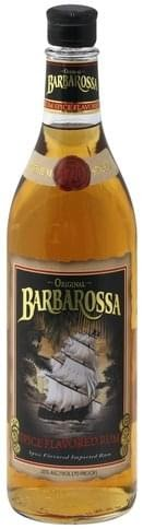 Barbarossa Spiced Rum Nutritional
