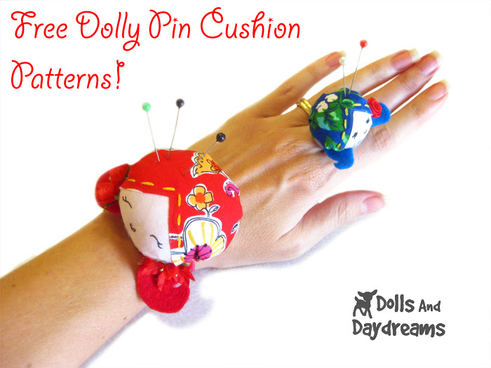 Wrist and Ring Pincushion Sewing Pattern