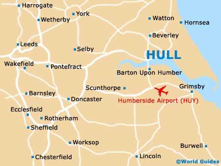 Hull England Map Hull England Map   World Map Gray