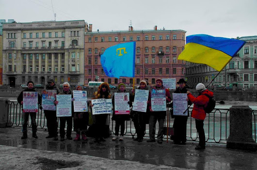 Despite crackdown, some brave Russians continue to demonstrate for Crimean Tatar rights | EUROMAIDAN PRESS