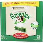 Greenies Dental Chews For Dogs Regular (For Dogs 2550 lbs.) 36 Chew(s)