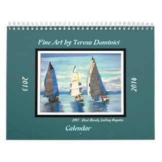 Fine Art by Teresa Dominici 2013-2014 Calendar