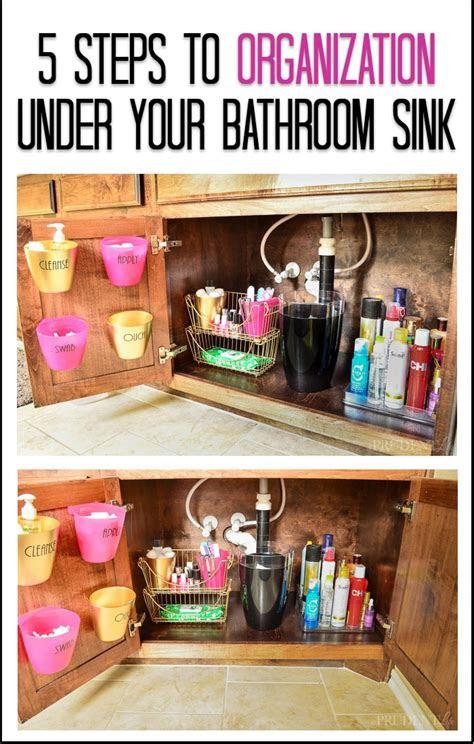 bathroom organization   sink tips polished habitat