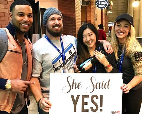 Golden Tate and Fiancee Bring Veteran?s Dream Proposal to