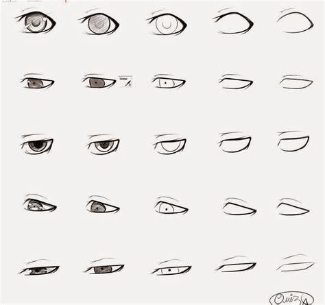 draw anime male eyes step  step learn  draw