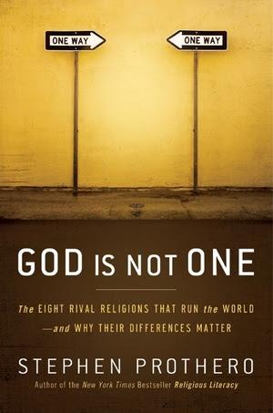 gambar kover buku God Is Not One