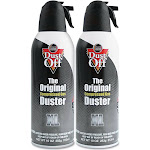 Forest Grass USA Disposable Compressed Air Duster, 10 oz Cans, 2/Pack