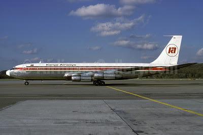 Kenya Airways Boeing 707-351B 5Y-BBK (msn 19872) ZRH (Rolf Wallner). Image: 912694.