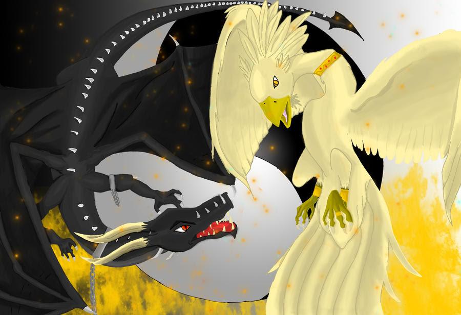 Dragón Oscuro VS Fénix de Luz