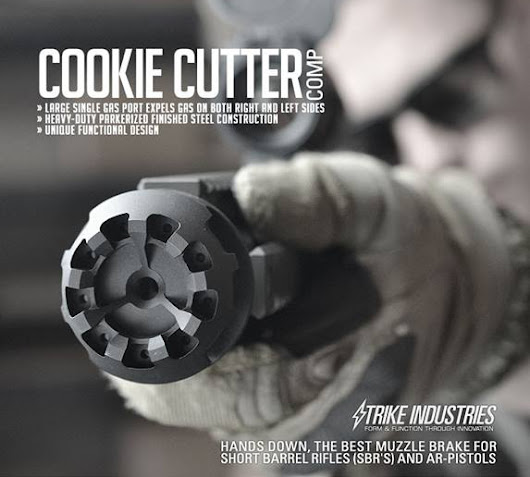 Strike Industries Cookie Cutter Comp - The Firearm Blog