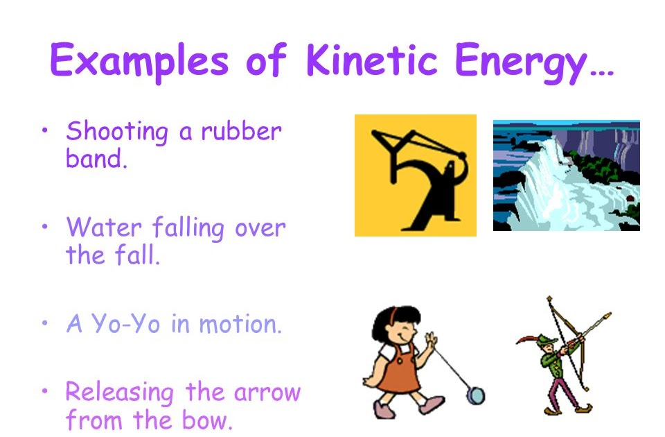 46 TUTORIAL 2 EXAMPLES OF KINETIC ENERGY WITH VIDEO..