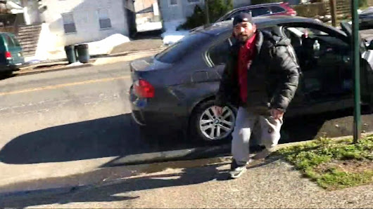 'Driveway rage' incident caught on camera in Elizabeth, New Jersey |
