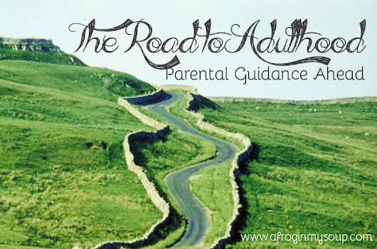 The Road to Adulthood: Parental Guidance Ahead — A Frog In My Soup
