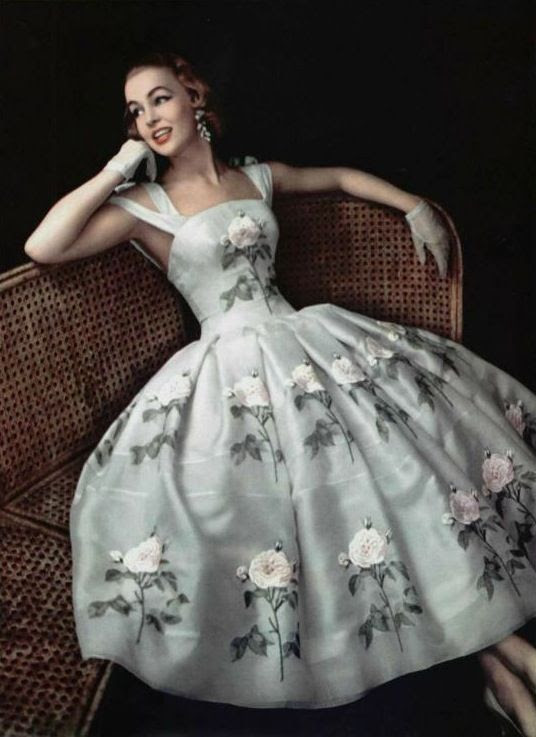 1956- Givenchy Vintage Fashion