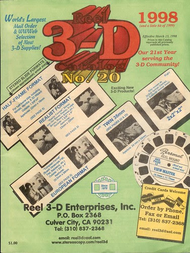 Reel 3-D catalog cover