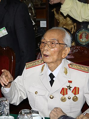 General Vo Nguyen Giap in 2008.