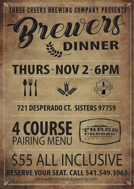 Pub Event: TCBC Fall Brewers Dinner