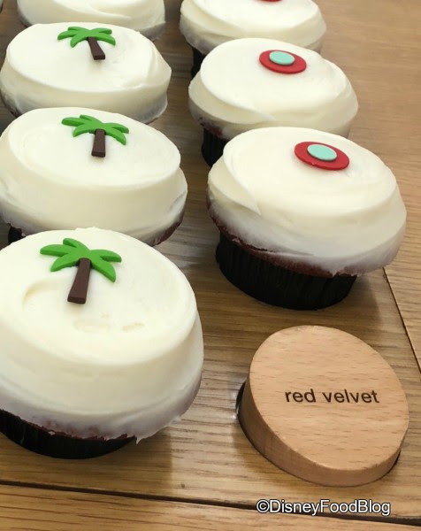 Red Velvet with a Pineapple Topper