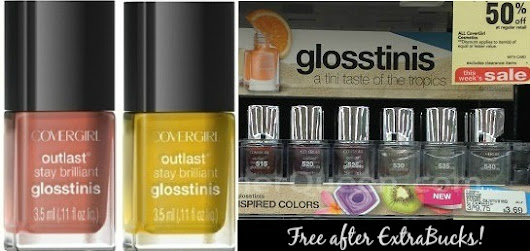 FREE CoverGirl Glosstinis This Week at CVS!
