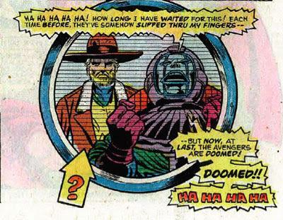 Avengers #143 panel