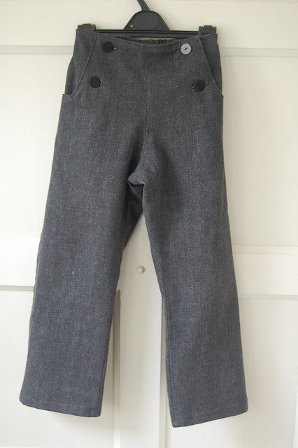 Denim Sailboat Trousers