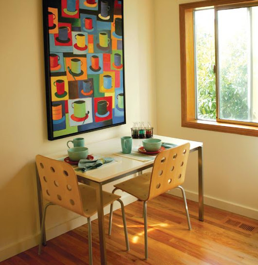 Creating a cozy breakfast nook