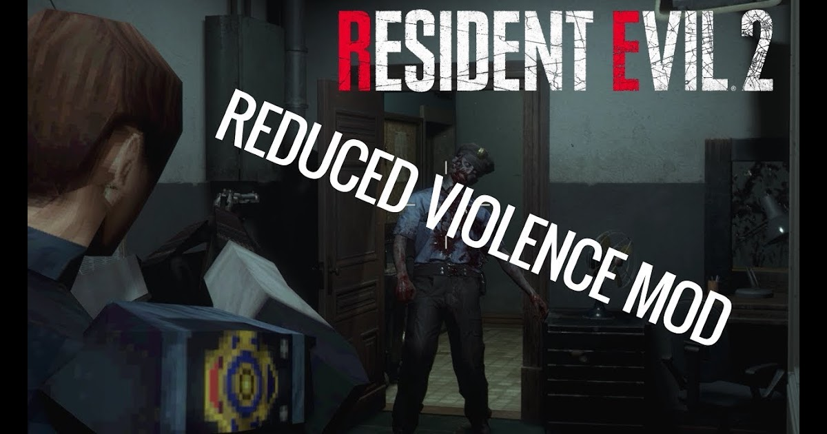 Mod Showcase - Resident Evil 2 - Reduced Violence