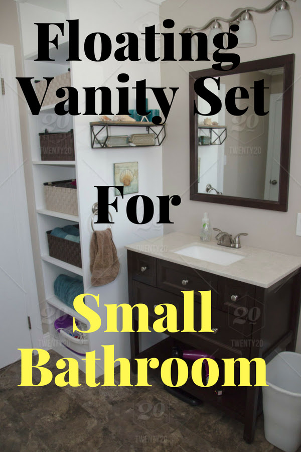 Floating Vanity Set For Small Bathrooms Manly Base