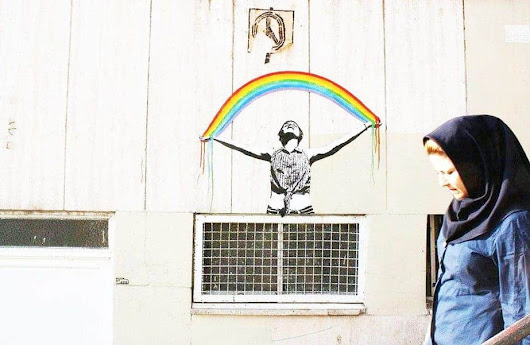 Mutiny of Colors by Iranian Street Artists