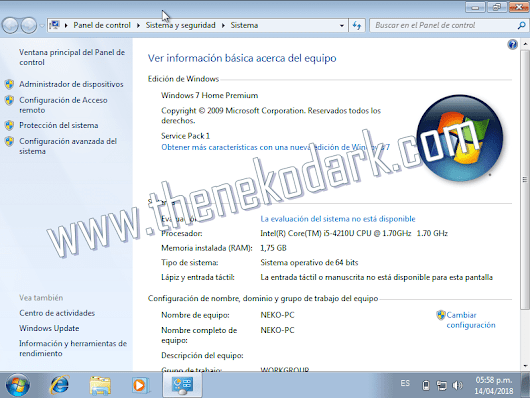 Windows 7 Home Premium SP1 x32/x64 Bits ISO Original Español