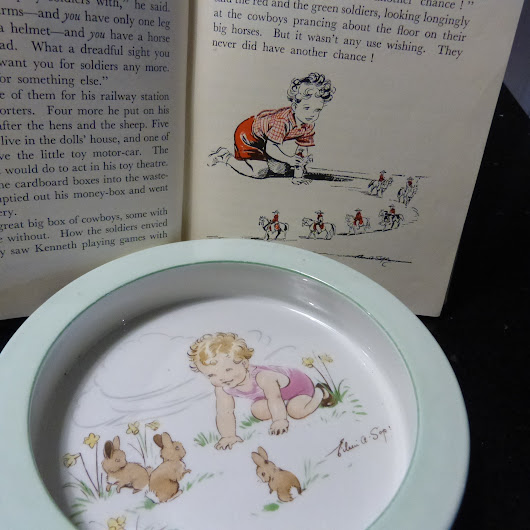 Lashings of talent - the lonely artist behind the Enid Blyton books - Jolly Volley Vintage