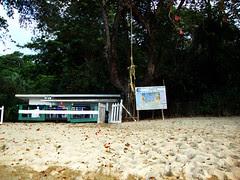 Coral cay Tobago expedition site
