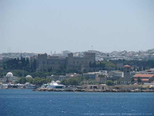 Rhodes city and castle