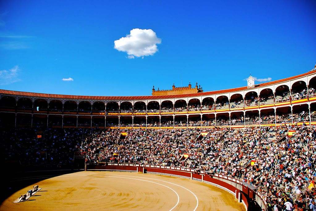 Madrid Bullfighting stadium